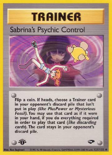 Sabrina's Psychic Control (#121/132)