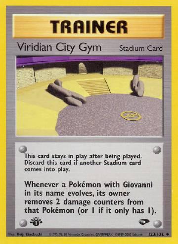 Viridian City Gym (#123/132)
