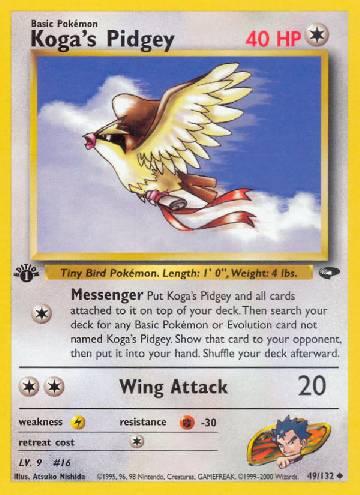 Koga's Pidgey (#49/132)