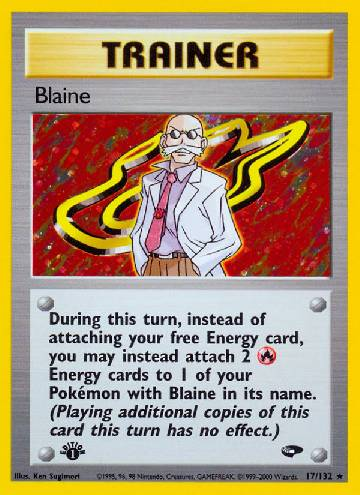 Blaine (#17/132)