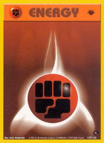 Fighting Energy (#127/132)
