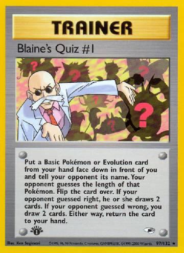 Blaine's Quiz #1 (#97/132)