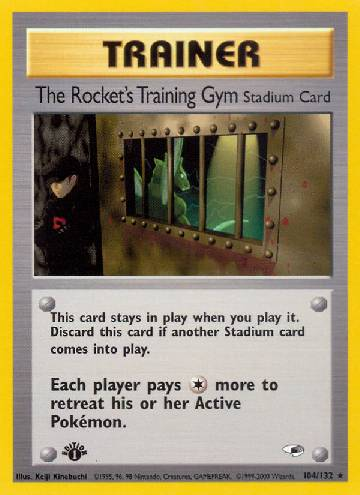 The Rocket's Training Gym (#104/132)