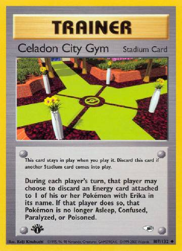Celadon City Gym (#107/132)