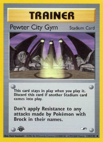 Pewter City Gym (#115/132)