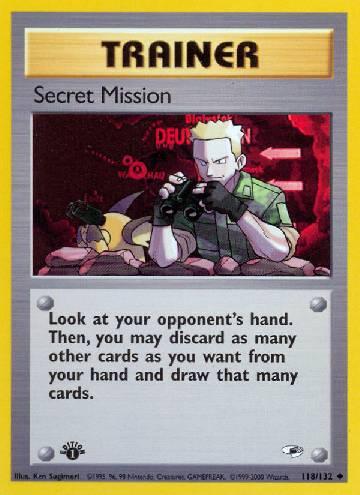 Secret Mission (#118/132)