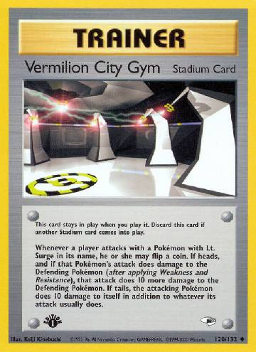 Vermilion City Gym (#120/132)