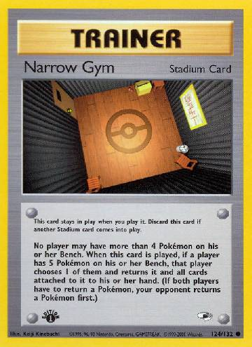 Narrow Gym (#124/132)