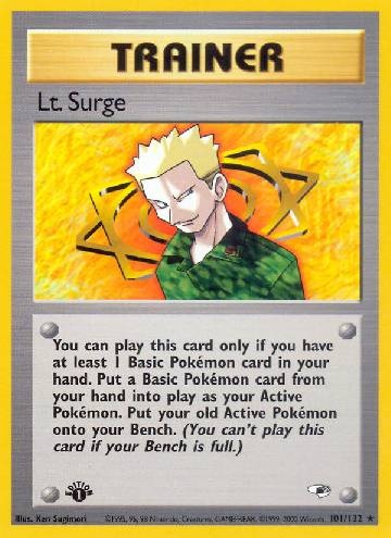 Lt. Surge (#101/132)