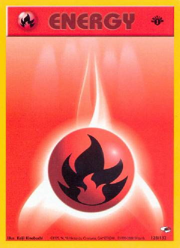 Fire Energy (#128/132)