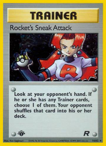 Rocket's Sneak Attack (#16/83)