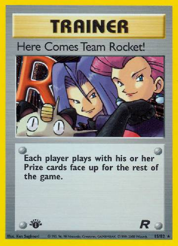 Here Comes Team Rocket! (#15/83)
