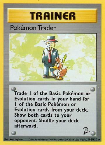 Pokémon Trader (#106/130)