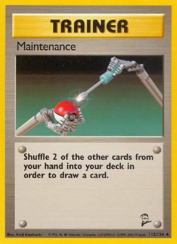 Maintenance (#112/130)
