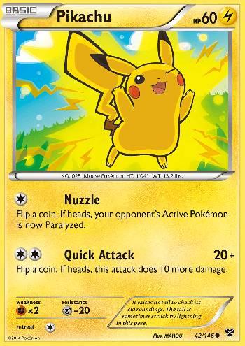 Pikachu (#42/146)