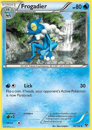 Frogadier (#40/146)