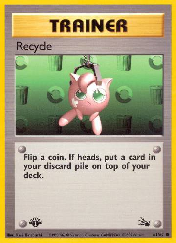 Recycle (#61/62)