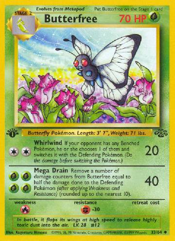 Butterfree (#33/64)