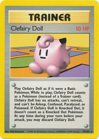 Clefairy Doll (#70/102)