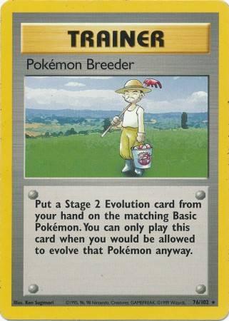 Pokémon Breeder (#76/102)