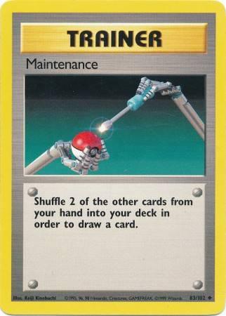 Maintenance (#83/102)