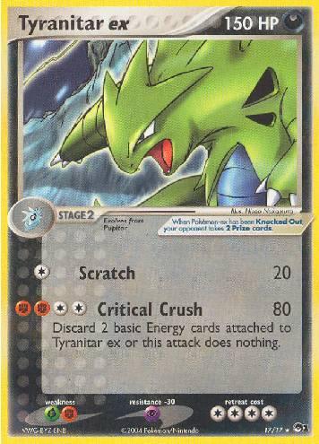 Tyranitar ex (#17/17)