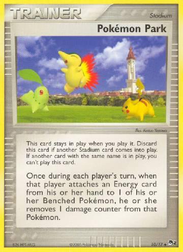 Pokémon Park (#10/17)