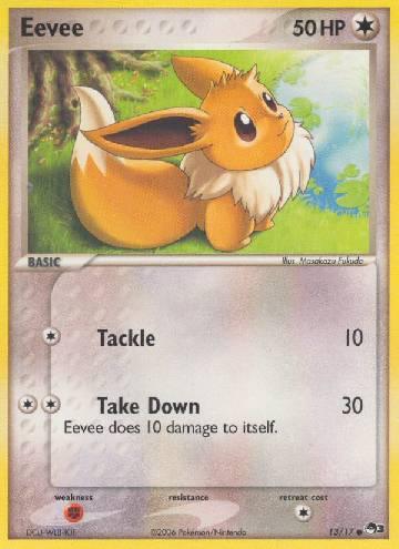 Eevee (#13/17)