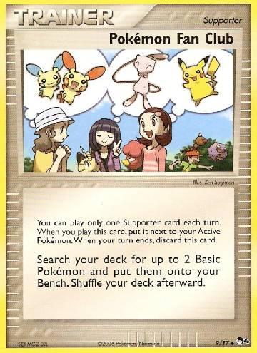 Pokémon Fan Club (#9/17)