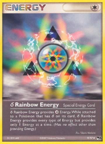 Delta Rainbow Energy (#9/17)