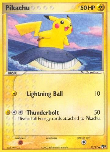Pikachu (#12/17)