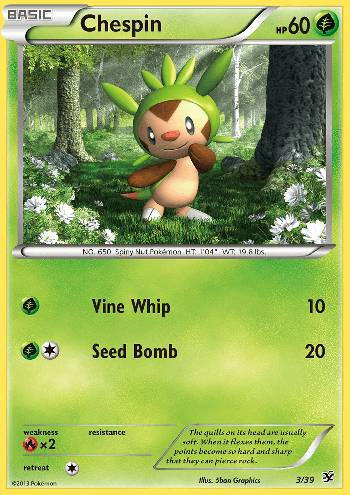 Chespin (#3/39)