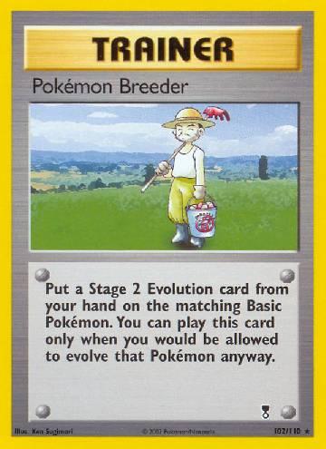 Pokémon Breeder (#102/110)