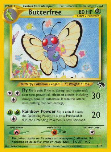 Butterfree (#9/18)