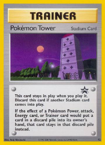 Pokémon Tower (#42/53)