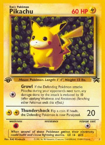 Pikachu (#1/53)