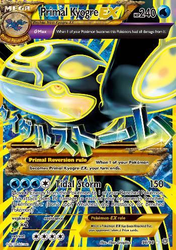 Primal Kyogre-EX (#96/98)