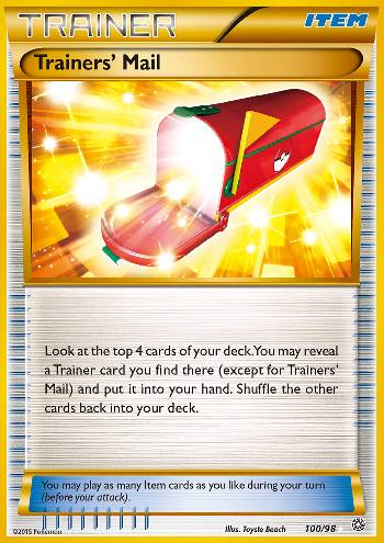 Trainers' Mail (#100/98)