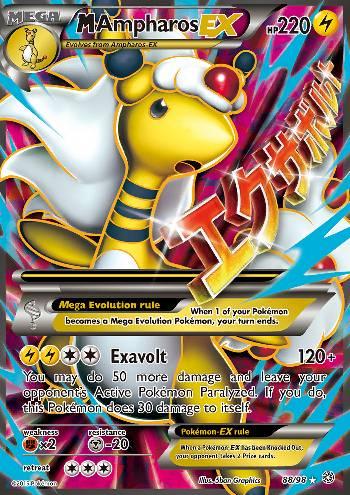 M Ampharos-EX (#88/98)
