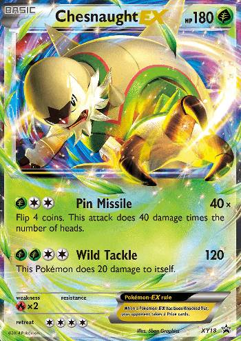 Chesnaught-EX (#XY18/∞)