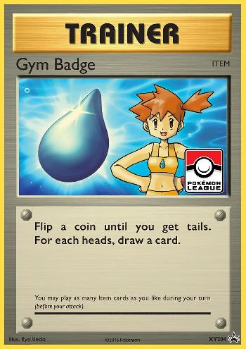 Insígnia de Ginásio / Gym Badge (#XY204/∞)