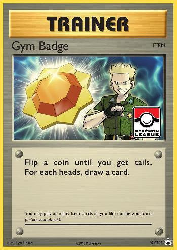 Gym Badge (#XY205/∞)