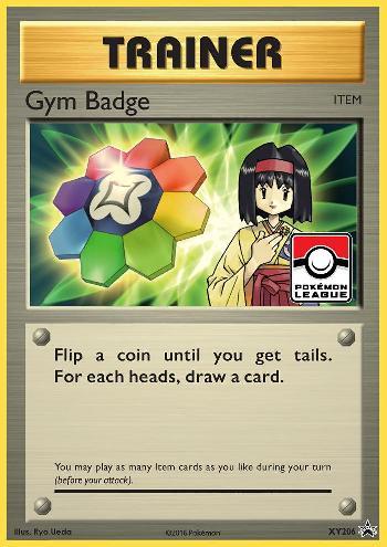 Gym Badge (#XY206/∞)