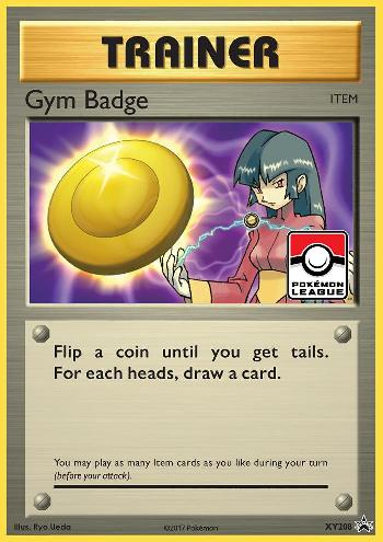 Insígnia de Ginásio / Gym Badge (#XY208/∞)