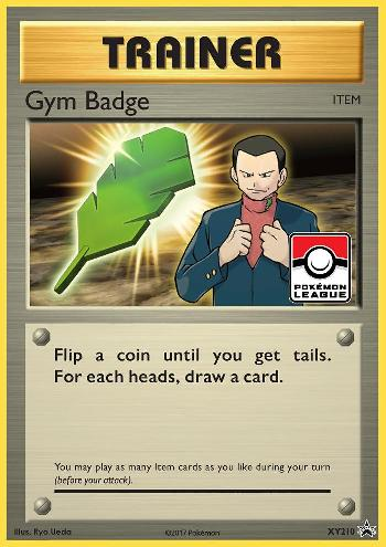 Insígnia de Ginásio / Gym Badge (#XY210/∞)