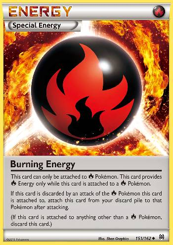 Energia Ardente / Burning Energy (#151/162)