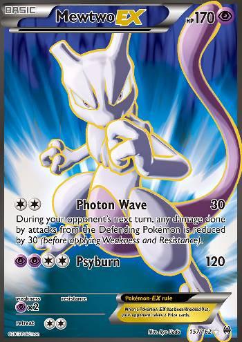 Mewtwo-EX (#157/162)