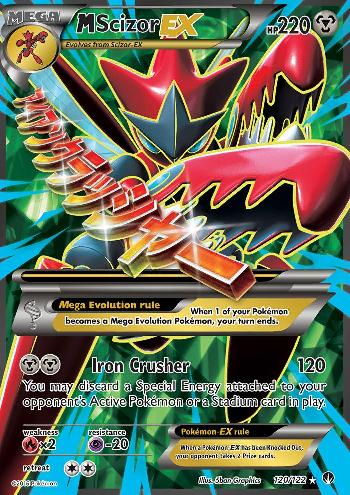 M Scizor-EX (#120/122)