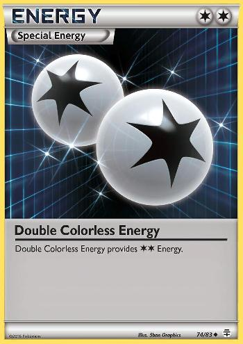 Double Colorless Energy (#74/83)