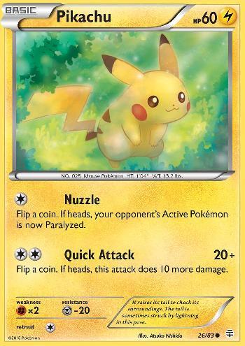 Pikachu (#26/83)